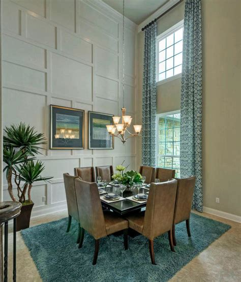 16 Beautiful 2story Dining Rooms  Homes Of The Rich
