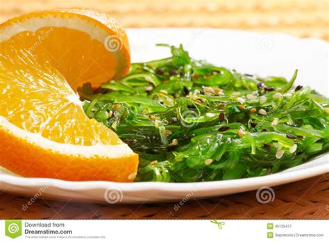 cuisine vegan vegan food japanese cuisine seaweed salad with orange in