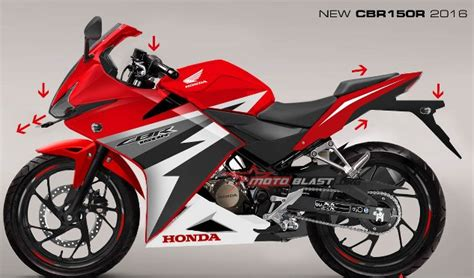cbr 2016 model sepeda motor honda begini prediksi tang cbr150r model