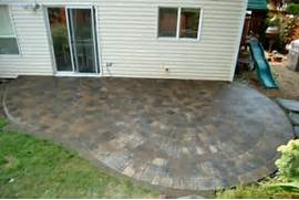 Adding Pavers To Concrete Patio Decorate Of Hillsboro OR Patio Replacement Classic Garden Creations Inc