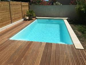 Tarif Piscine Enterrée : vente et pose d 39 une piscine coque polyester 6x3 avec ~ Premium-room.com Idées de Décoration