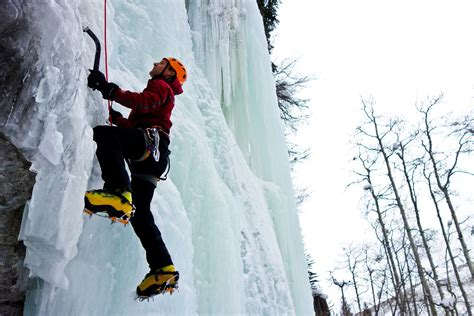 Introduction To Ice Climbing Ice Climbing For Beginners