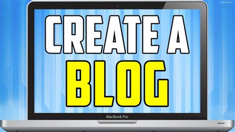 How To Create A Blog  Easy To Follow Tutorial! Youtube