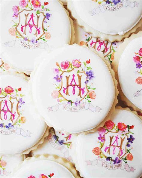 monogram wedding ideas  love martha stewart weddings
