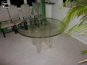 Table De Salle A Manger Ronde : table de salle a manger ronde versailles 78000 ~ Teatrodelosmanantiales.com Idées de Décoration
