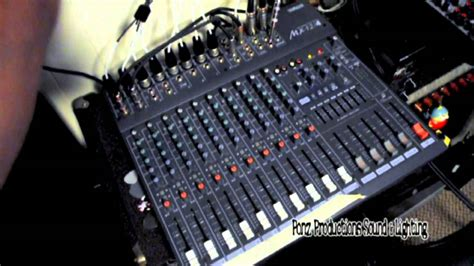 Intro To Mixer And Basic Live Sound Setup Pt 61 Stage
