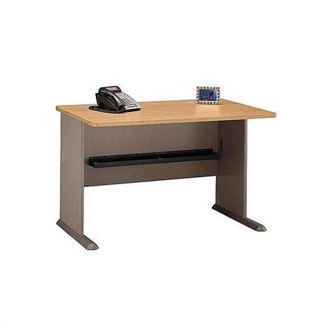 light wood corner desk bush business series a 4 piece wood corner desk in light