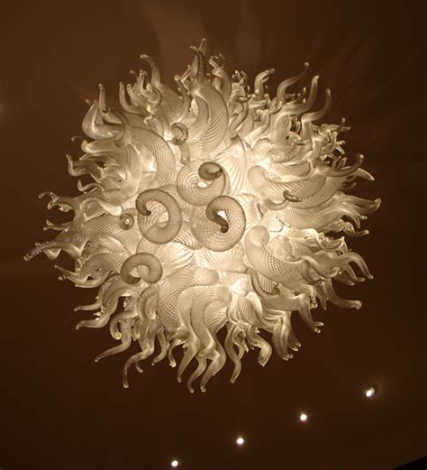 led lighting blown glass murano chandelier in