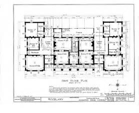 antebellum house plans floor plans woodlawn plantation mansion napoleonville louisiana