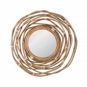 Miroir Rotin Noir : miroir design et scandinave d 39 inspiration nordique drawer ~ Melissatoandfro.com Idées de Décoration