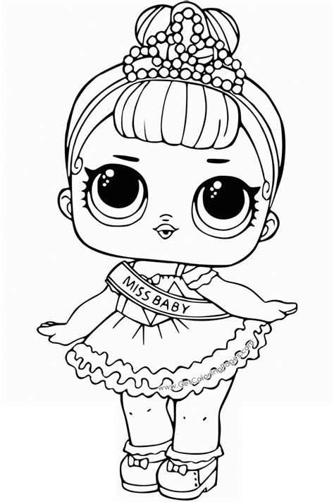 lol surprise dolls coloring pages print