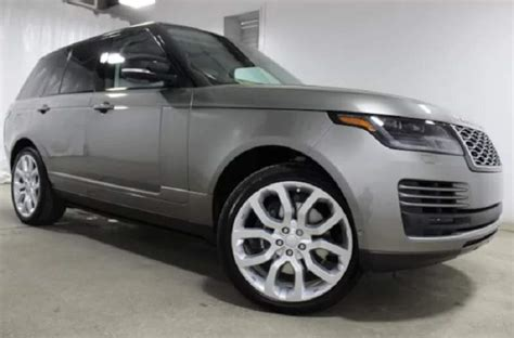 2019 Range Rover Vogue Dimensions And Supercharged V8
