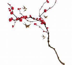 sticker decoration arbre japonais With affiche chambre bébé avec voyage japon cerisiers en fleurs