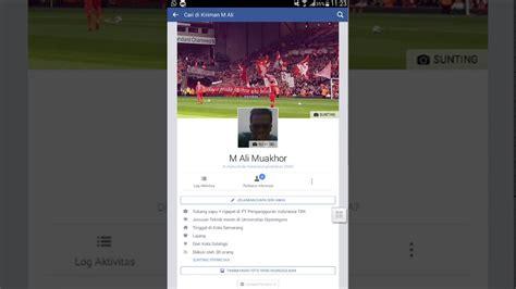 mengganti foto profil facebook  gambar video
