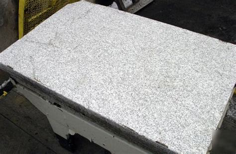 surface plate white granite with stand 48 x 30 x 8 5
