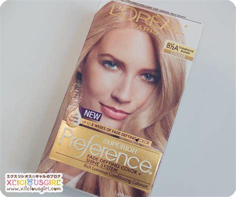 L'oréal Superior Preference Champagne Blonde Hair Dye