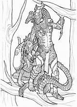 Coloring Alien Predator Pages Xenomorph Vs Drawings Version Colouring Deviantart Adult Kyra Ronniesolano Pencil Warrior Aliens Printable Adults Sketch Marine sketch template
