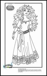 Coloring Disney Princess Pages Brave Merida Sheets Colouring Princesses Printable Fans Request Printables Ministerofbeans Colors Bookmark Adult Toaster Coloring99 Cartoon sketch template