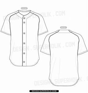 13 baseball uniform template vector images baseball for Softball uniform design templates