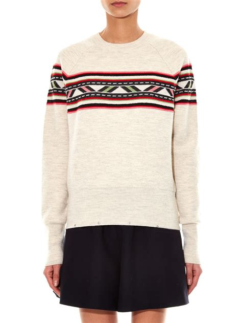 marant sweater marant 39 39 sweater in lyst
