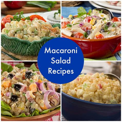 simple salad recipes how to make macaroni salad 14 simple macaroni salad recipes mrfood com