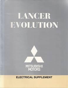2005 Mitsubishi Lancer Evolution Wiring Diagram Manual Original