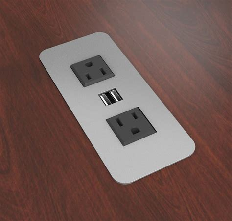hotel ls with outlets and usb surface mount power outlets with usb charging ports