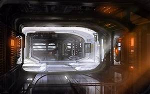 Sci-Fi Space Station Interior Texture - Pics about space