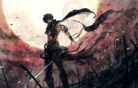 War Anime Wallpaper - touken ranbu anime character sword war warrior