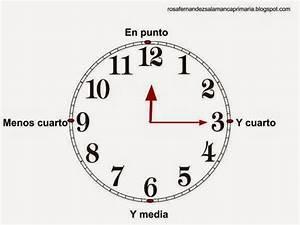 Maestra de Primaria: ¿Qué hora es? Los relojes analógicos En punto, y media, y cuarto y menos