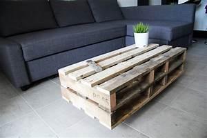 Table En Palette : avoir une table basse palette c est tendance ma table basse ~ Melissatoandfro.com Idées de Décoration