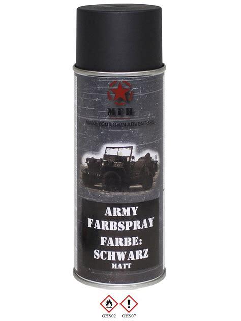 schwarz matt lack milit 228 r lack spraydose schwarz matt
