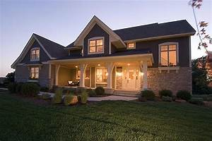 Craftsman style house plan 4 beds 35 baths 2909 sq ft for 4 bedroom and 3 bathroom house