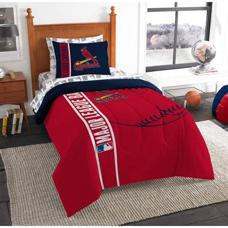 st louis cardinals mlb twin comforter bed   bag soft