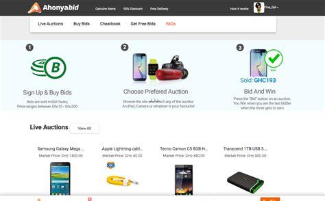 bid websites ahonyabid best auctions site in bid and win on