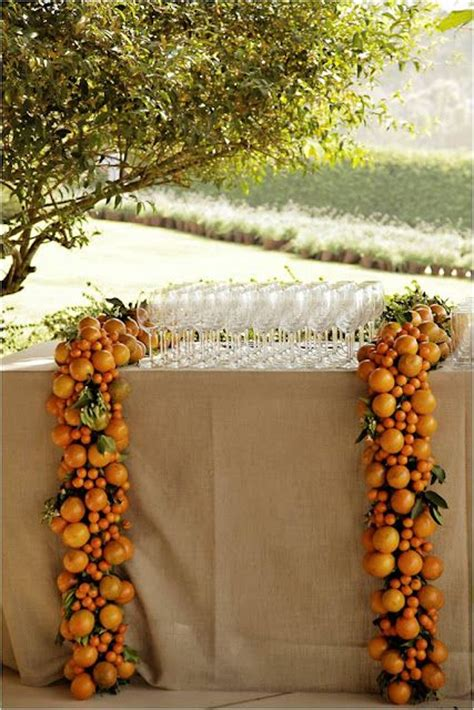Garden Decoration Ls by 1000 Ideas About Orange Table On Blue Tables