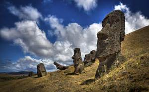 statues have long drawn travelers to this isolated Pacific island ... Easter Island (Chile)