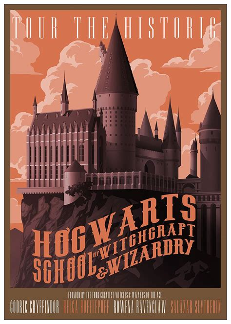 harry potter poster hogwarts express coated paper wall art