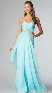 Romantic and Sensual Aqua Blue Strapless Bridesmaid ...