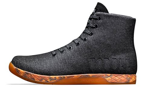 High Top by Nobull High Top Trainer Black Orange Rogue Fitness