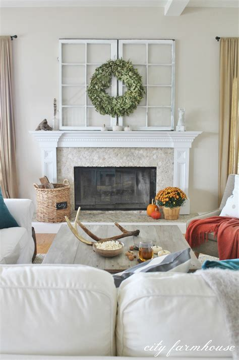 chic decor ideas rustic chic fall tour city farmhouse Rustic