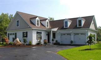 L Shaped House Plans With Attached Garage Photo by L Shaped Cape Cod Home Plan 32598wp Architectural