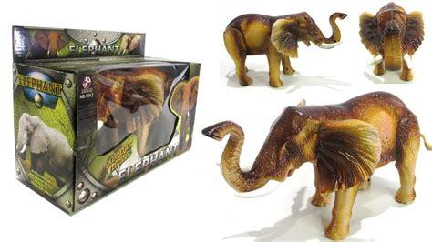 mainan cattle world kerbau baterai mainan gajah berjalan pakai baterai mainan animal world elephant youtube