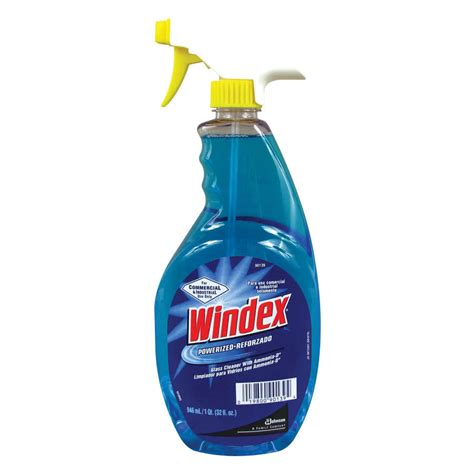 cleaning with ammonia diversey windex 90139 ammonia d 32 oz glass and multi surface spray cleaner 12 case