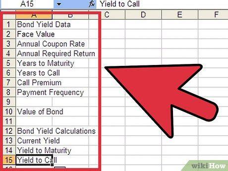 3 formas de calcular el rendimiento de un bono con Excel