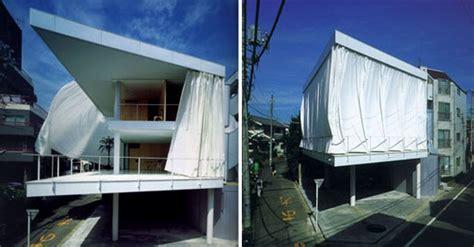 shigeru ban curtain wall house inhabitat green design