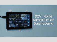 DIY WallMounted Tablet Dashboard for OpenHAB using