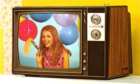 when was color television invented the amazing 1971 zenith color tv