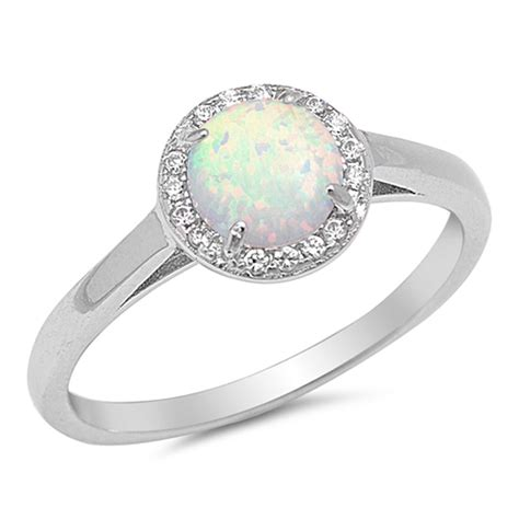 halo ring new 925 sterling silver wedding engagement band ebay