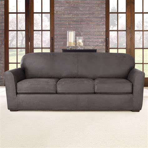 stretch slipcovers for sofa sure fit stretch sofa slipcover reviews wayfair